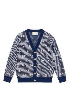 GG Wool Cardigan
