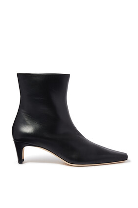 Wally Leather Booties
