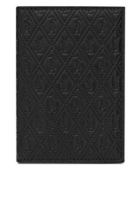 Monogram Leather Credit Card Wallet