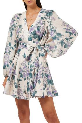 Cassia Wrap Short Dress