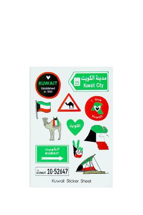 Kuwait Sticker Sheet