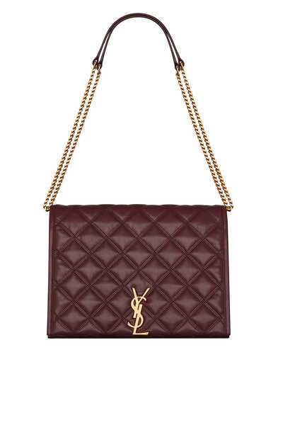 Becky Medium Chain Bag in Quilted Lambskin
