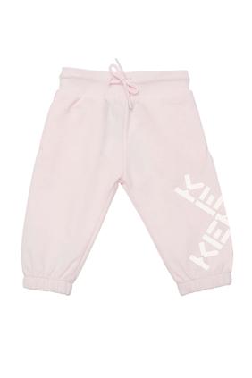 Cotton Logo Sweatpants