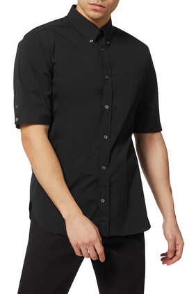 Buttoned Short Sleeved Shirt
