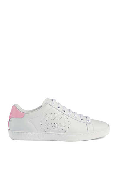 Ace Interlocking G Sneakers