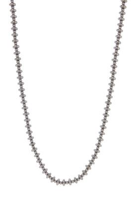 Hematite Roundel Necklace