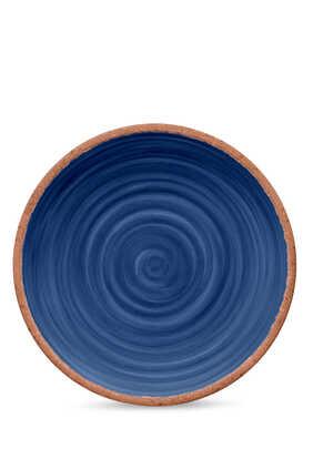 Rustic Swirl Dinner Plate
