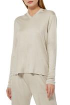 Easy Ribbed V-Neck Sweater