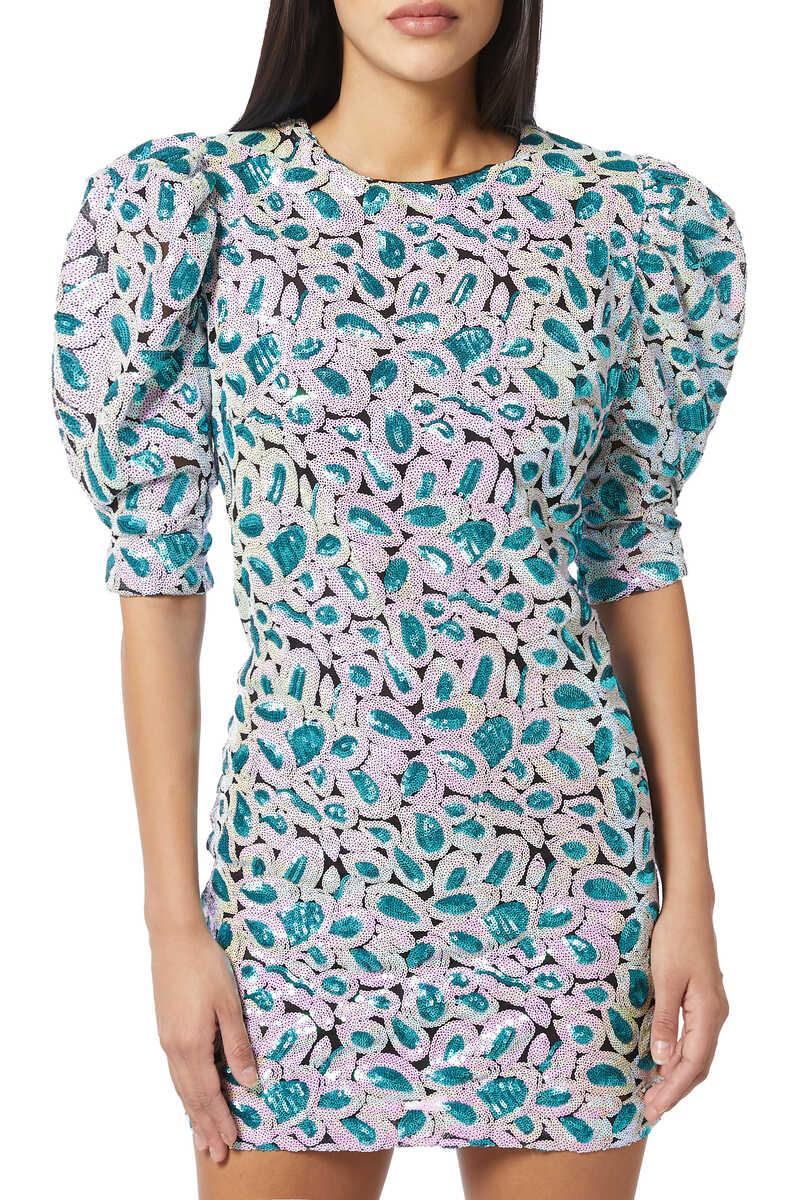 Christina Sequin Dress image number 1