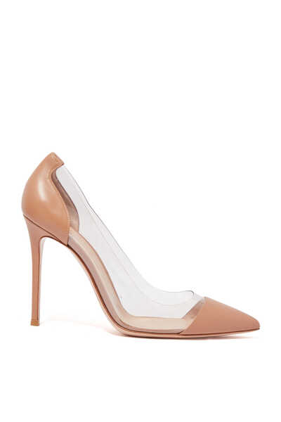 Nappa Plexi Pumps