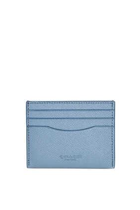 Grosgrain Leather Card Case