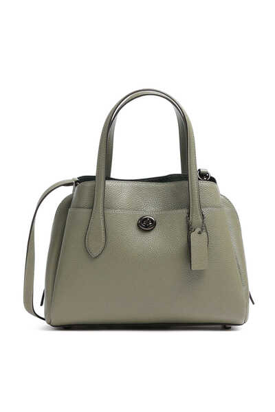 Lora Pebble Leather Carryall 30