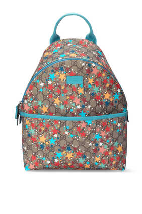GG Star Print Backpack