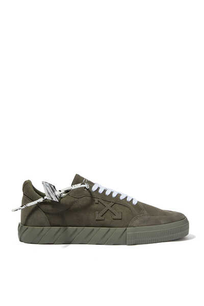 Vulcanized Suede Sneakers