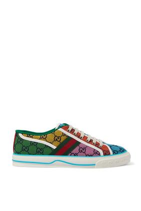 Multicolor Tennis Sneakers