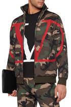 Valentino Garavani V Logo Print T-Shirt