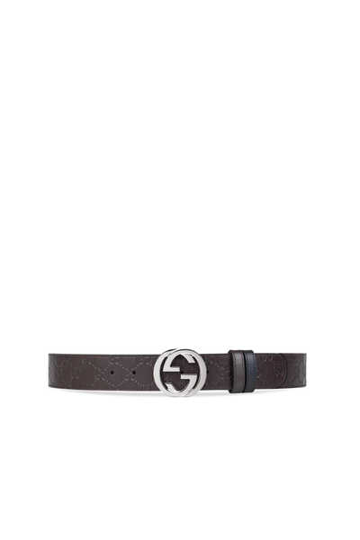 Reversible Gucci Signature Leather Belt