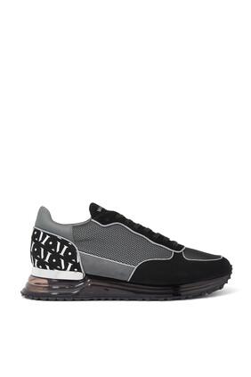 Popham Gas Grey Mesh Reflect Sneakers