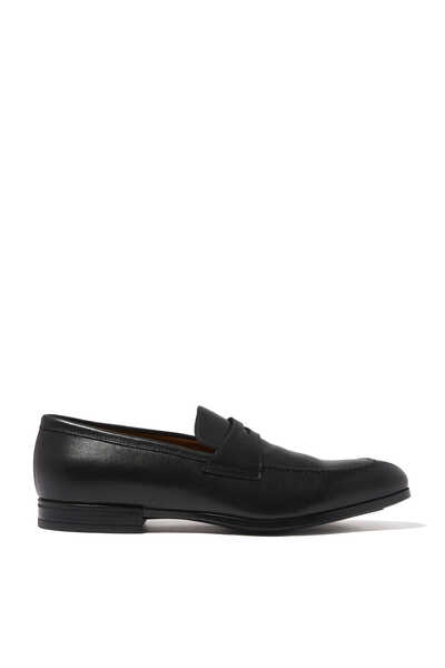 Oslo Penny Leather Loafers
