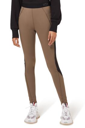 Logo Patch Pants