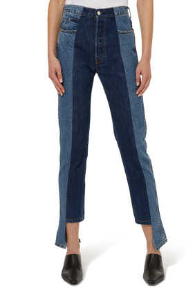 The Twin Straight Denim Jeans