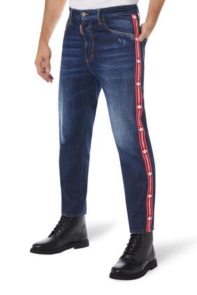 Logo Tape Jeans