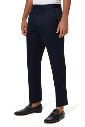 60's Cotton Web Pants