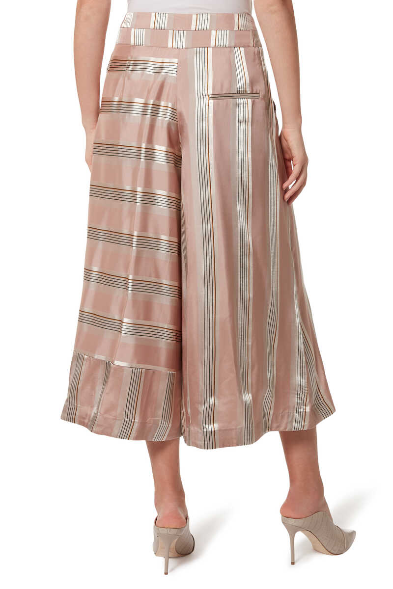 Vana Striped Culottes image number 3