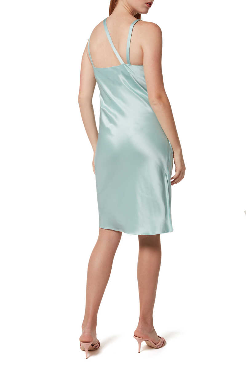 Asymmetric Slip Dress image number 3
