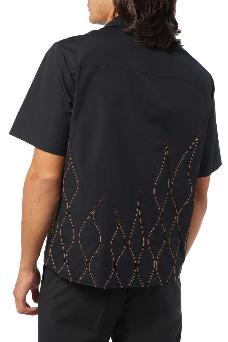 Flamed Stitched Shirt image number 3