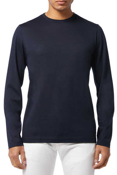 Finch Wool Crewneck Sweater