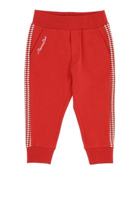 Houndstooth Jogging Pants