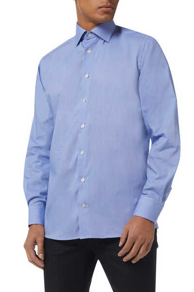 Crease Resistant Micro Textured Shirt