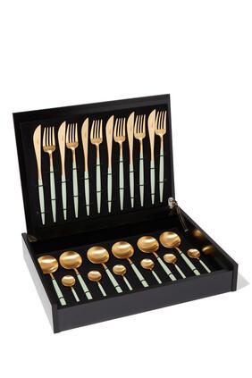 Goa Celadon 24 Piece Cutlery Set