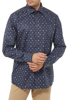 Vegatables Print Shirt