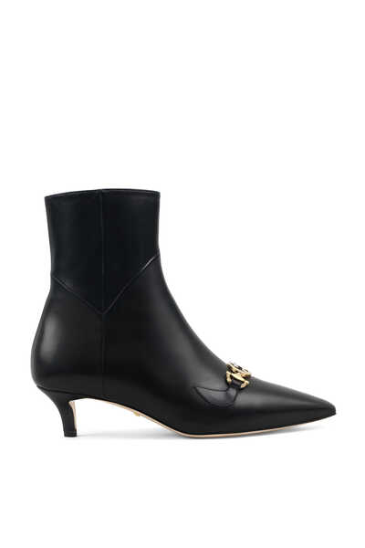 Zumi Leather Ankle Boots