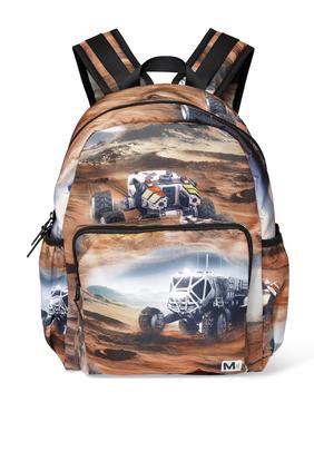 Cars Print Backpack