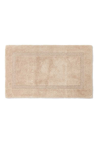 Light-Beige Reversible Bath Mat
