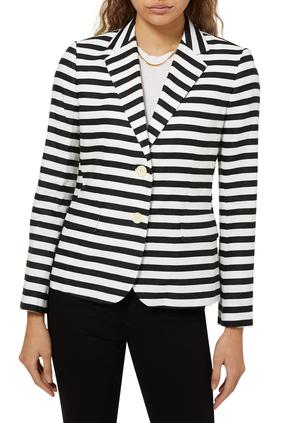 Linen Striped Jacket