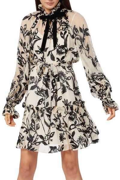 Ladybeetle Swing Mini Dress