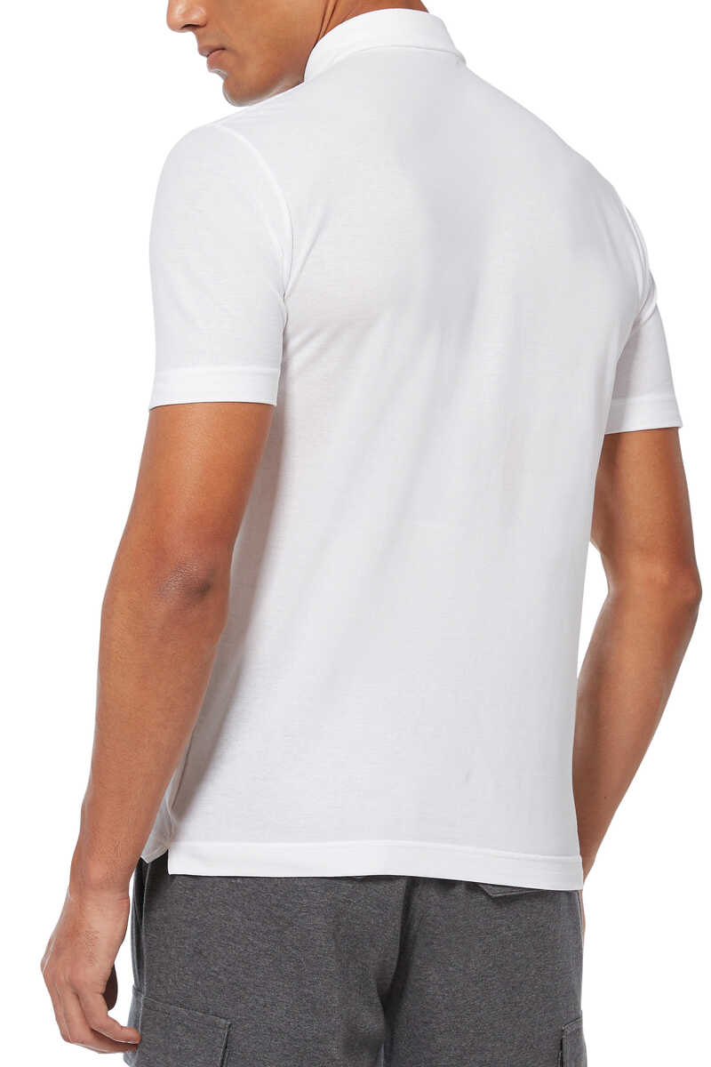 Ice Cotton Polo Shirt image number 3