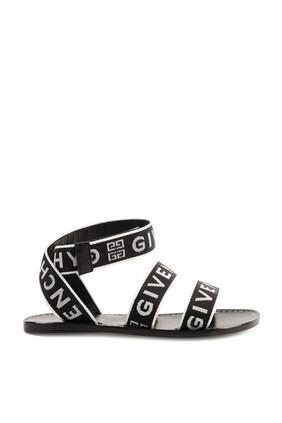 Logo Strap Sandals