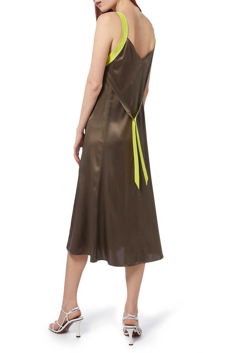 Colette Slip Silk Dress image number 6