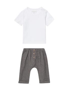 Top & Pants Set