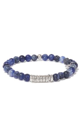 Blue Disc Bracelet