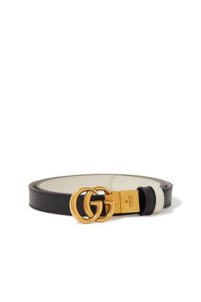 GG Marmont Reversible Thin Belt