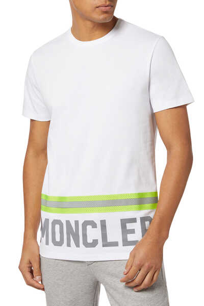 Reflective Logo Print T-Shirt