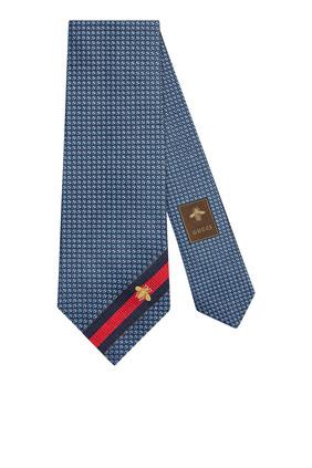 Bee Silk Tie