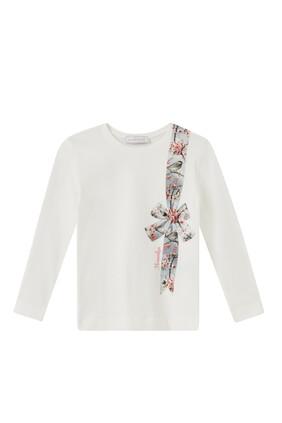 Blossom Bow Print T-shirt