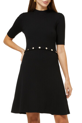 Rosalie Ribbed Knit Dress